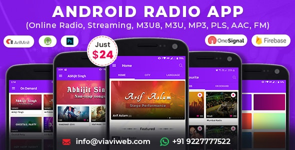 Online Radio M3u