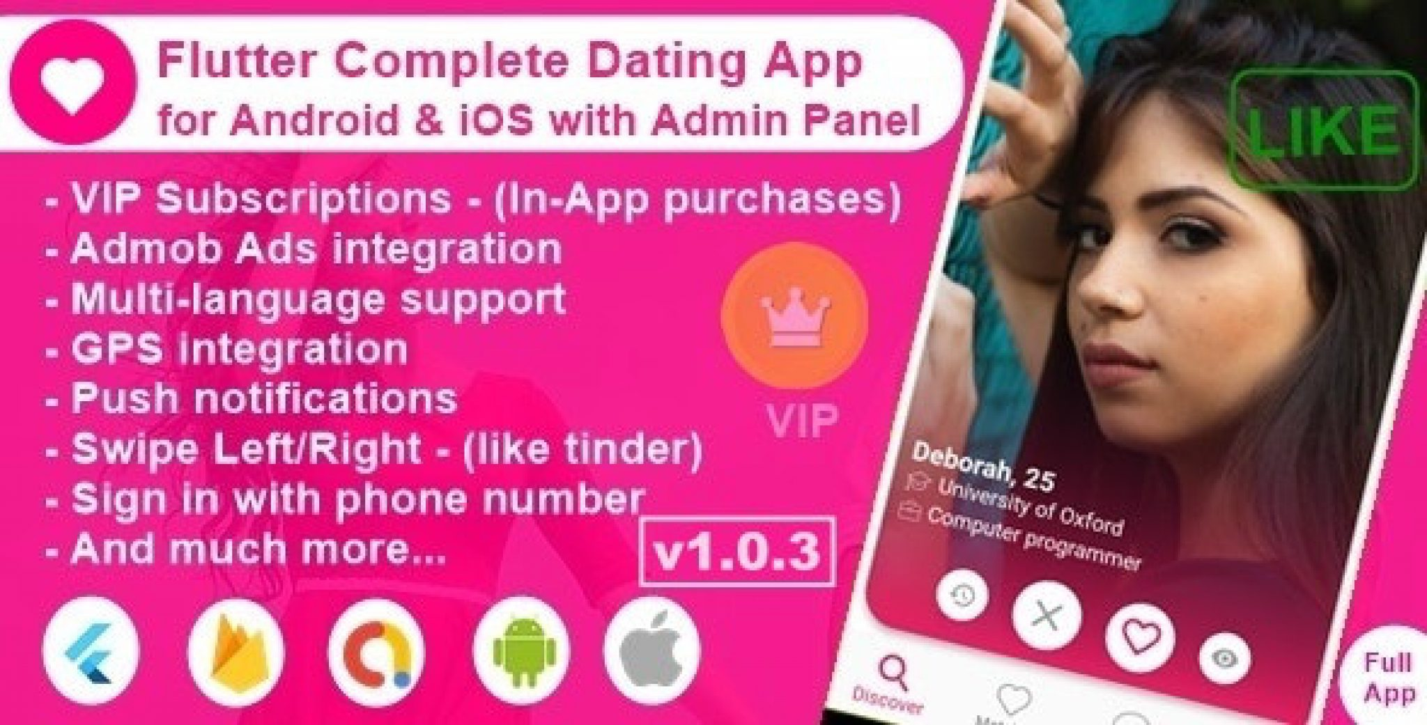 flutter dating app be in the moment